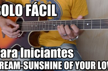 Riff Fácil da Música Sunshine of Your Love