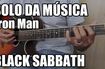 Riff Fácil da Música Iron Man – Black Sabbath