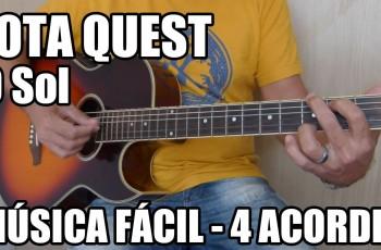 O Sol – Jota Quest Música Fácil para Iniciantes