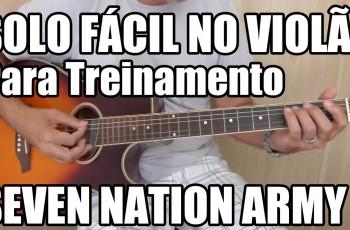 Riff Fácil da Música – Seven Nation Army