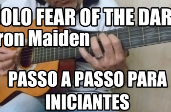 Riff da Música Fear of the Dark – Iron Maiden