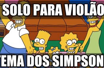 Aprenda o Solo do Tema de Abertura dos Simpsons